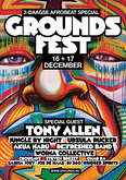 16+17 december: GROUNDSfest, Afrobeat special met o.a. Tony Allen, Ursula Rucker, Re:Freshed, Jungle By Night en Woima Collective